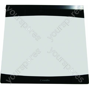 Glass Lid Assembly Black