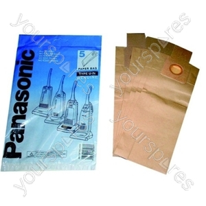 Panasonic U20 Paper Vacuum Bag - Pack of 5