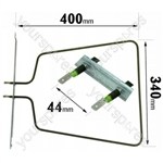 Whirlpool AKP691WH02 1000 Watt Lower Oven Element