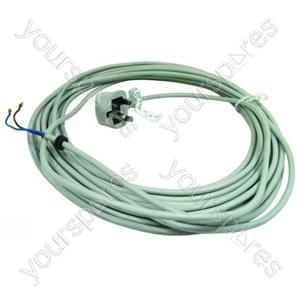 Power Cord Schuko Plug Grey