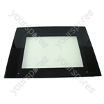 Main Door Glass Black