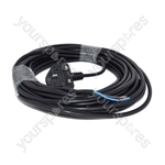 Numatic Henry Vacuum Cleaner Replacement Power Cable and Plug