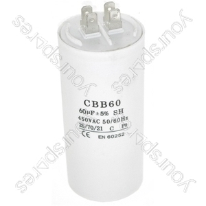 Universal 60UF Microfarad Appliance Motor Start Run Capacitor