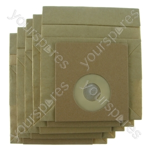 Asda Pv900 Vacuum Cleaner Paper Dust Bags