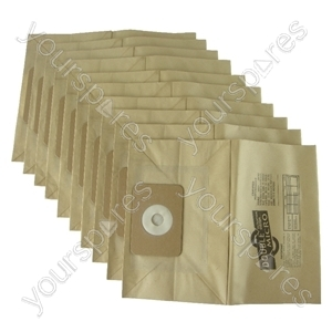 Numatic George Vacuum Cleaner Paper Dust Bags x 10