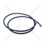 Creda Universal Washing Machine Inlet Cold Fill Blue Hose 2.5m Long