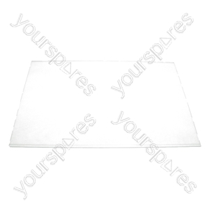 Indesit Fridge Lower Glass Shelf