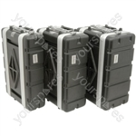 """ABS 19"""" SHALLOW RACK CASES"""