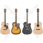 CW36CE Electro-acoustic guitar - natural