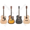 CW36CE Electro-acoustic guitar - black