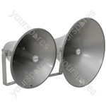 PA reflex horn, rectangular, 320 x 220mm